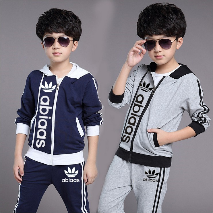 Spring kids clothes sets boy jacket + pants suit clothing set Clothes fashion high quality sport suits children boys clothes(China (Mainland))