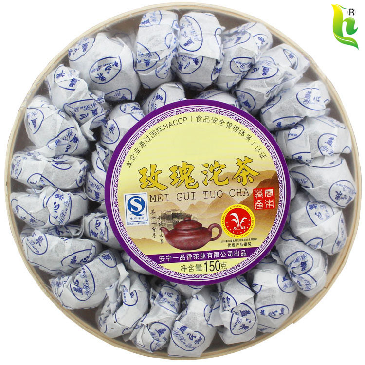 Hot Sale Black Tea Flavor Pu er Puerh Tea Chinese Mini Yunnan Puer Tea Green Food