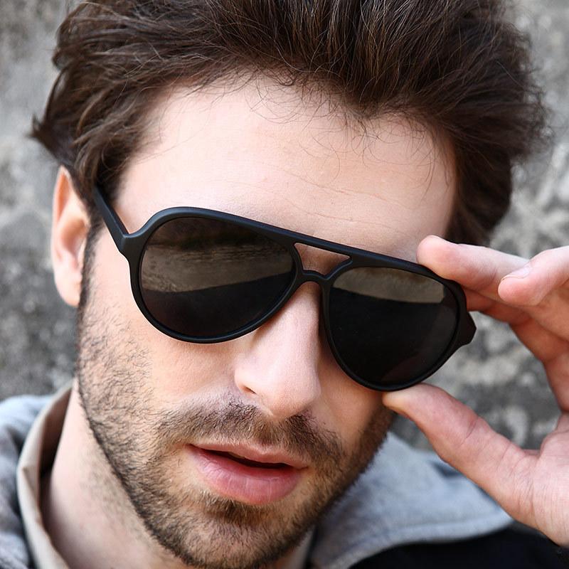 Fashion Men's UV400 Aviator Sunglasses men Driving Mirrors Eyewear Sun Glasses for Men male points sun glass outdoor sports Hot(China (Mainland))