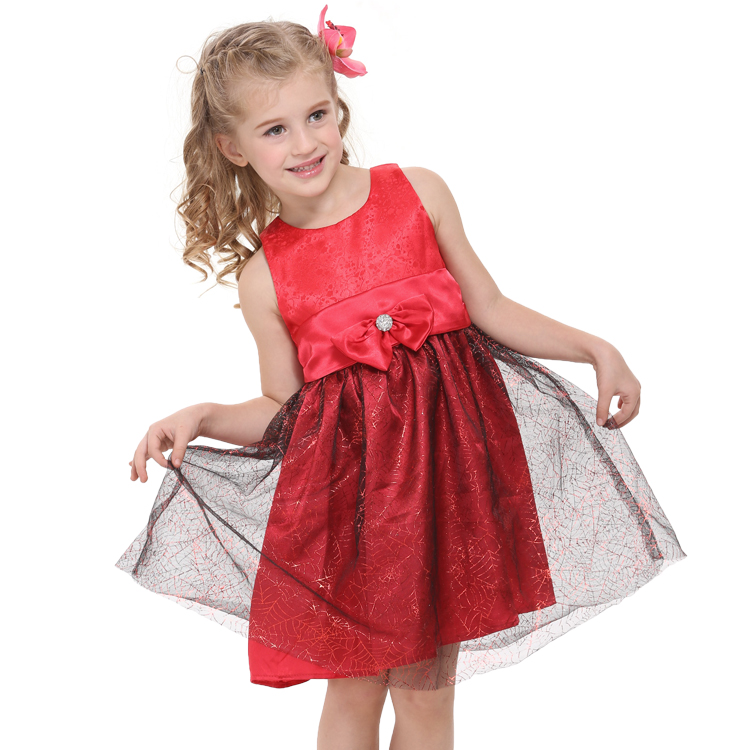 Girls dresses christmas princess dress baby girl clothes children