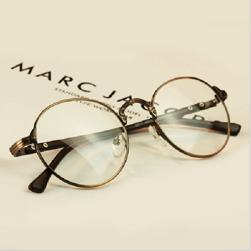 Super Lightweight Eyeglass Frames : 2015 Oculos Grau Gafas Vintage Optical Myopia Metal ...