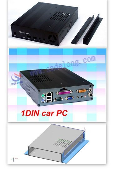 car pc for ATOM D525 DDR3 2G ,16G SSD ITPS power