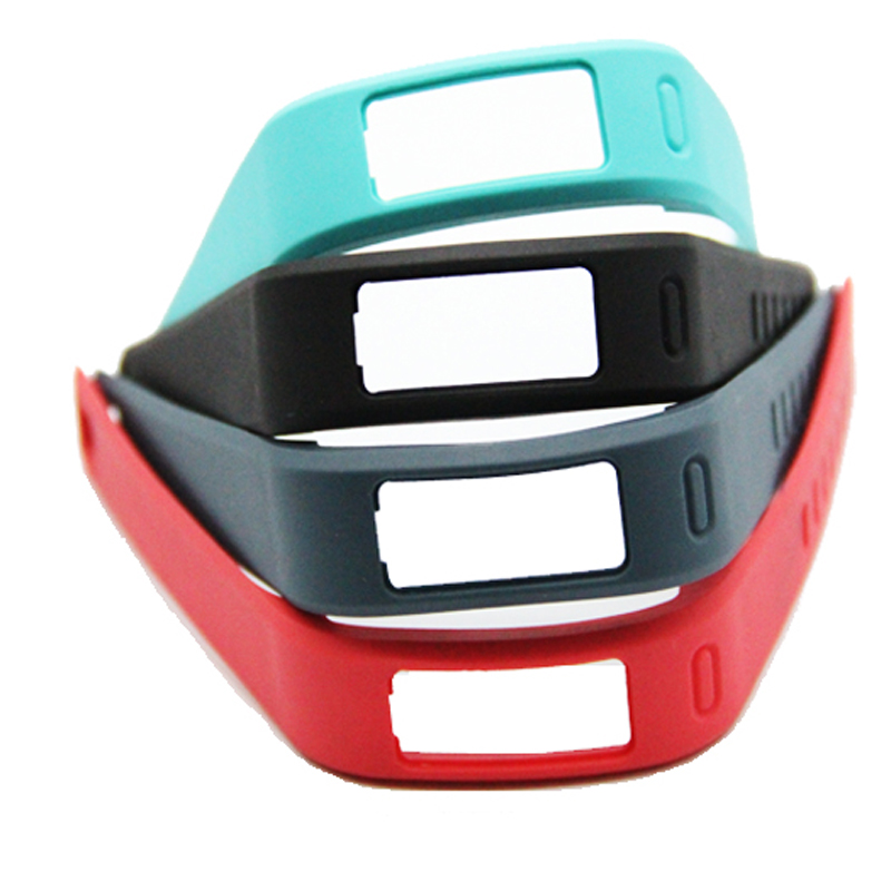 1Pcs 2016 New 10 Colors Replacement Wristband TPU Replace Band With Clasps for Garmin Vivofit Bracelet Large Size(China (Mainland))