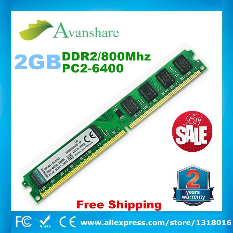 Гаджет   Brand New Sealed Longdimm DDR2 667 Mhz/ 800Mhz/533Mhz 1GB/2GB for desktop RAM Memory / Lifetime warranty / Free Shipping None Компьютер & сеть