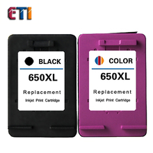 For HP 650XL Remanufactured  For HP650XL  Ink Cartridges Deskjet 1015 1515 2515 2545 2645 3515 4645 For HP 650 XL Ink Cartridges