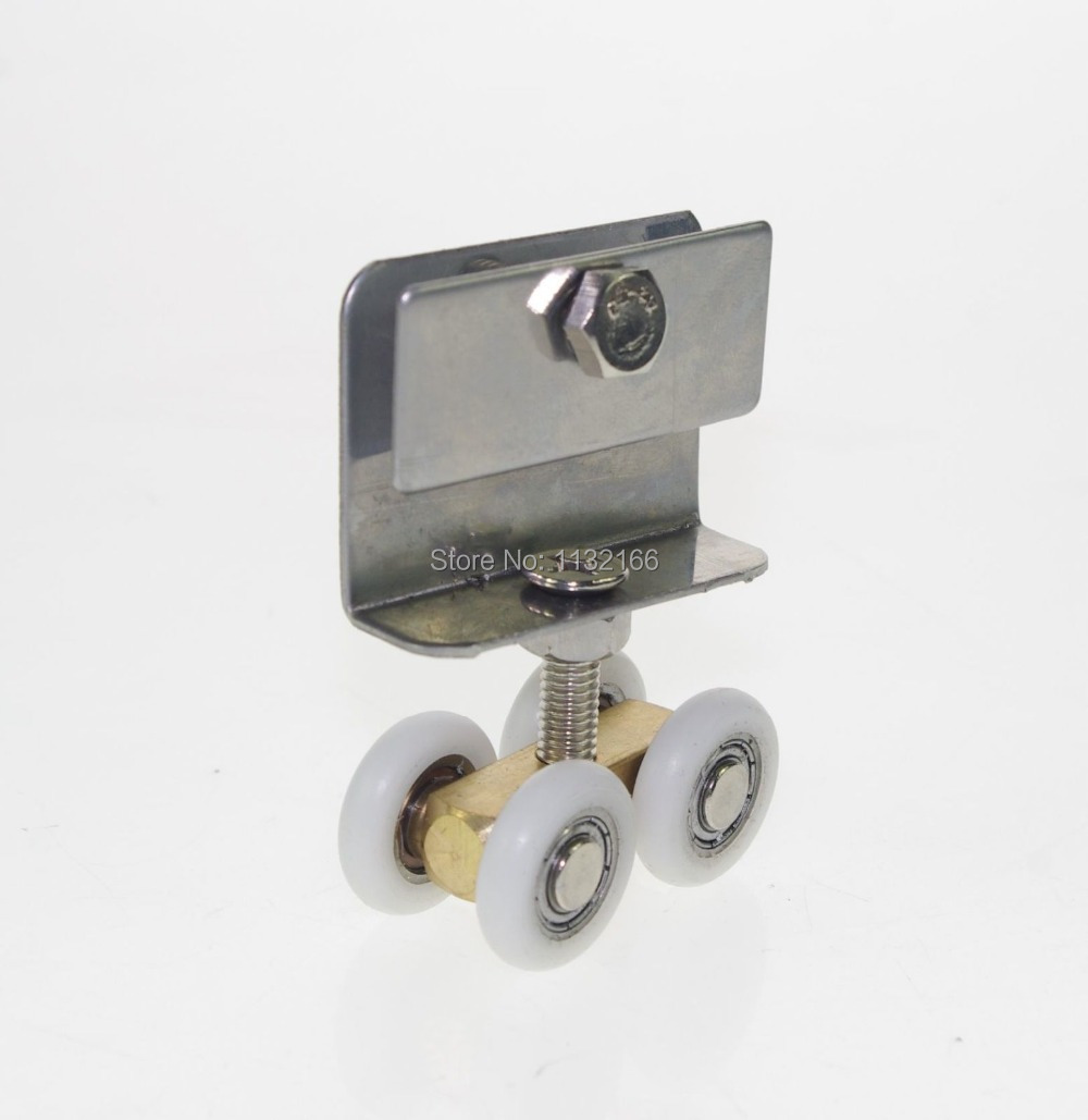 Гаджет  Keep 5-8mm Glass 20mm Dia Handing Wheels Pulley Shower Room Door Roller Runner None Аппаратные средства