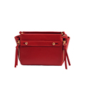 2016 New Fashion Side Zippers Bag Women Solid Color Simple Shoulder Bag Occident Style Ladies All