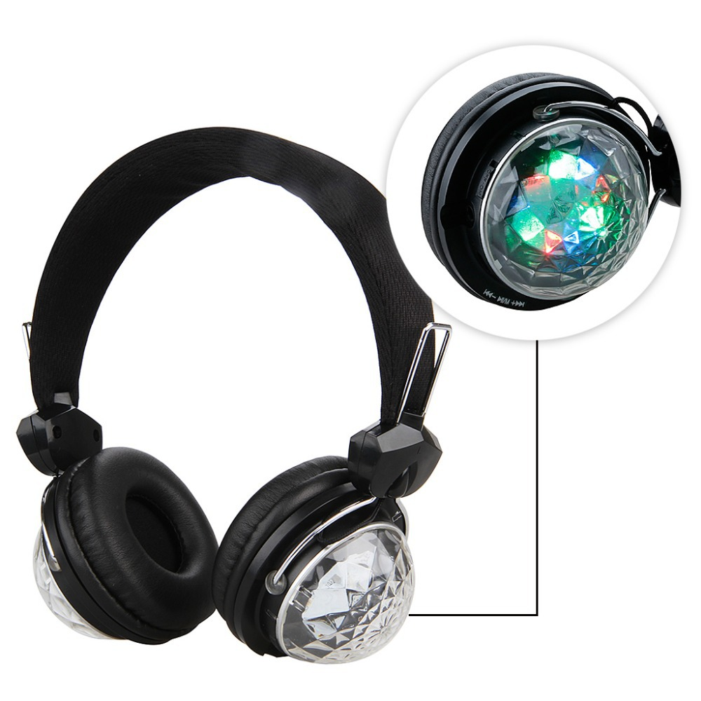 Classic HD LED Bluetooth 3.0 Stereo Wireless Headphone Foldable Handsfree Headset with Microphone(China (Mainland))