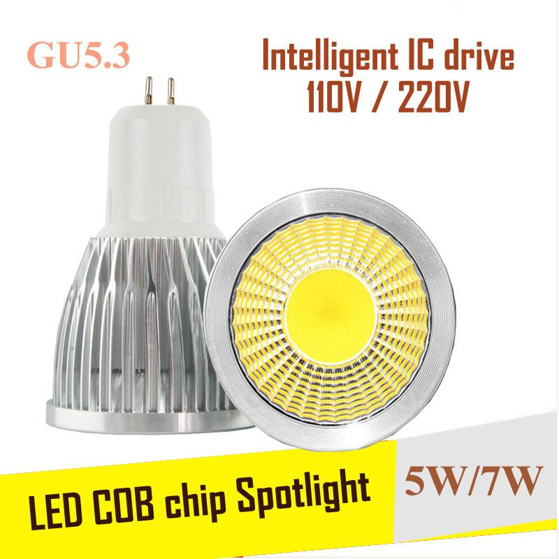 Dimmable Cree COB Bombillas LED Lamp GU5.3 Lampada LED Bulb 220V Lamparas Spotlight 9W 12W GU5.3 Spot light GU 10 Luz Ampoule(China (Mainland))