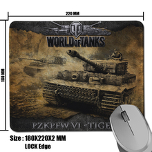 New Product Game World of Tanks Picture Cool Durable Non-Slip Computer Mouse Mat for Optical Gaming Mouse Pad(China (Mainland))