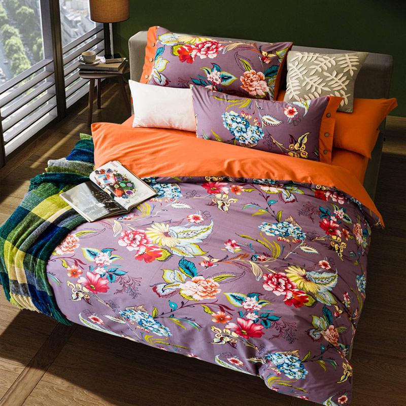 Purple bedding promotion shop for promotional turquoise purple bedding