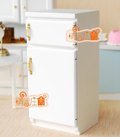 1 12 maison de poup e mod le mini accessoires blanc for Accessoire cuisine en ligne