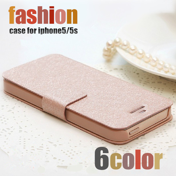 luxury Leather Flip wallet capa para coque capinha cover by i phone4 phone5 phone6 fundas case for iphone 4 4s 5 5s 6 6 plus(China (Mainland))