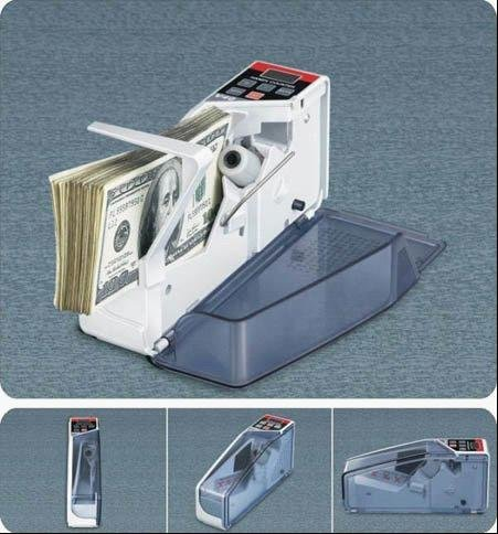 Fast Shipping NEW Mini Portable Handy Bill Cash Money All Currency Counter Counting Machine Wholesale/Retail