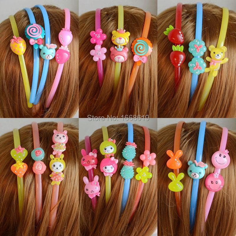 1pcs/lot Free shipping kids hair accessory,lovely kids girl hairband,kids candy hairbands(China (Mainland))