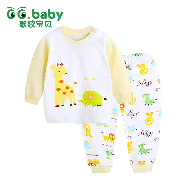 2016 Character Children's Clothing Sets Kids Girls Tshirt Pants Newborn Baby Boys Clothes Set Cotton Roupa Bebes Shirt Boy Suits(China (Mainland))