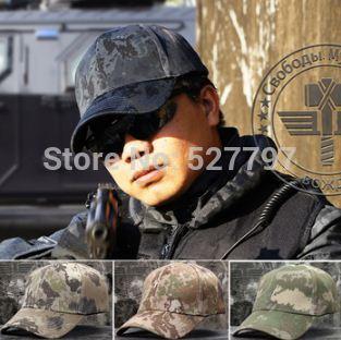Tactical Combat Airsoft Camouflage Quick Dry Baseball Golf Tennis Cap Outdoor Sports Hunting Fishing Cycling Camping Hiking Hats(China (Mainland))