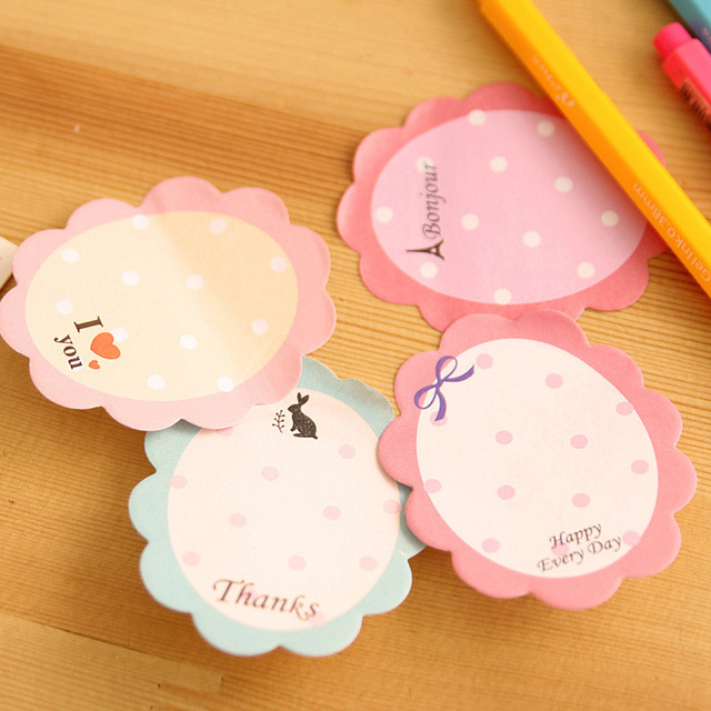 Flower Stickers (Memo Pads)