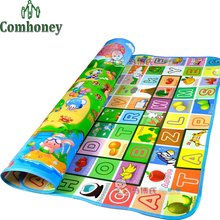 Baby Crawling Mat Fruit Letters and Happy Farm Child Beach Mat Toy Play Outdoor Mat Carpet Game Picnic Pad for Kids and Infant(China (Mainland))