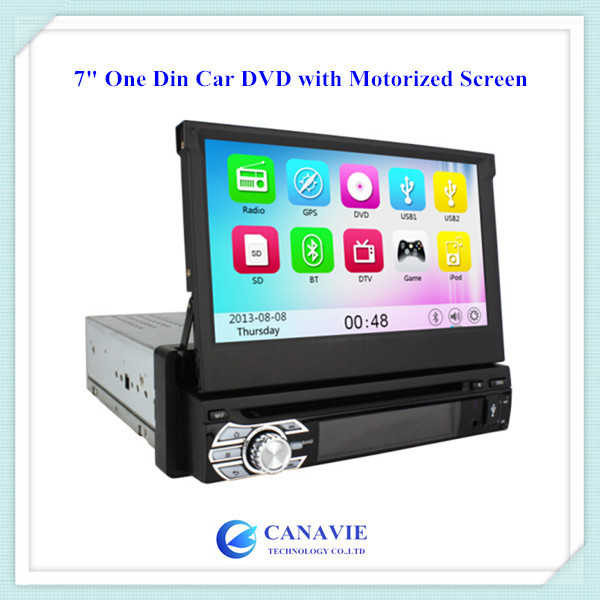 One Single 1 Din Car Central Multimedia GPS Navigation with 3G WIFI BT Phonebook 10 Virtual Discs SWC iPod iPhone(China (Mainland))