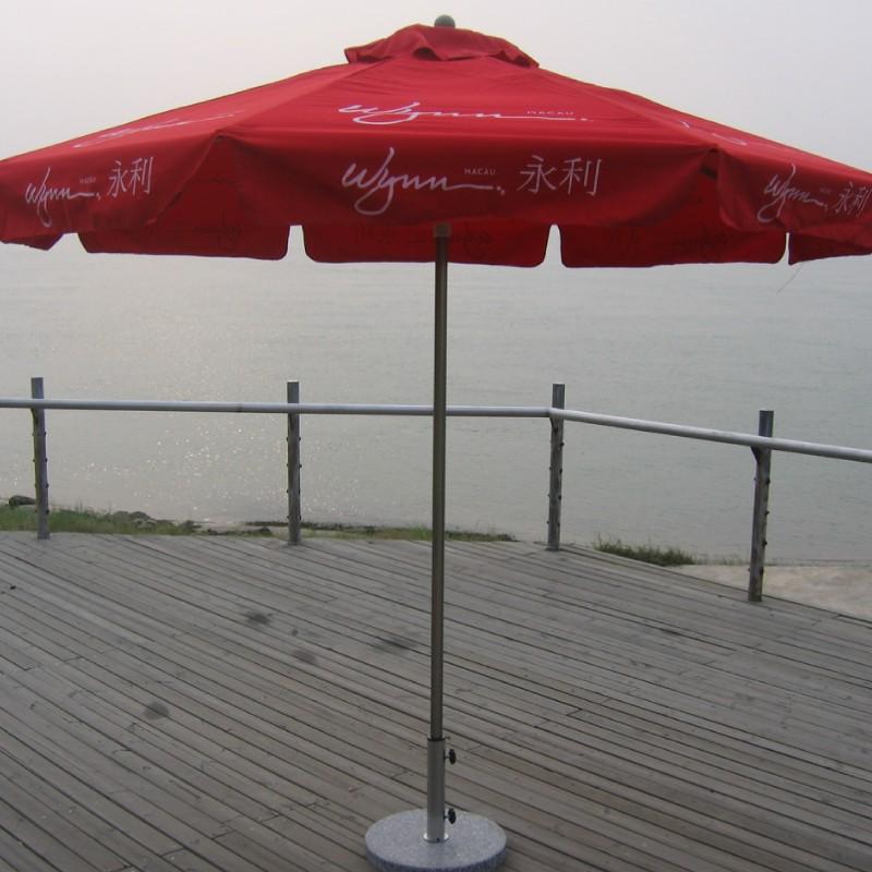 Cheap slouch with aluminum sun umbrellas outdoor patio umbrella beach advertising silk screen LOGO<br><br>Aliexpress