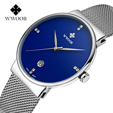Brand Men's watches dress quartz watch men steel mesh strap quartz-watch Ultra-thin ultra clock relogio masculino(China (Mainland))