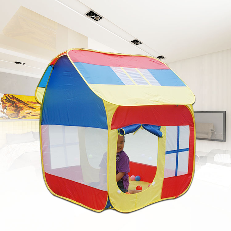 Parent-child interaction Large size of pop up play house, toy play tent, kids games, play games, play ground Christmas gift(China (Mainland))