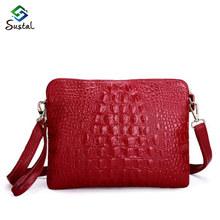 2016 Genuine genuine crocodile skin new pattern package size fashion style clutch women shoulder bag messenger bags handbag