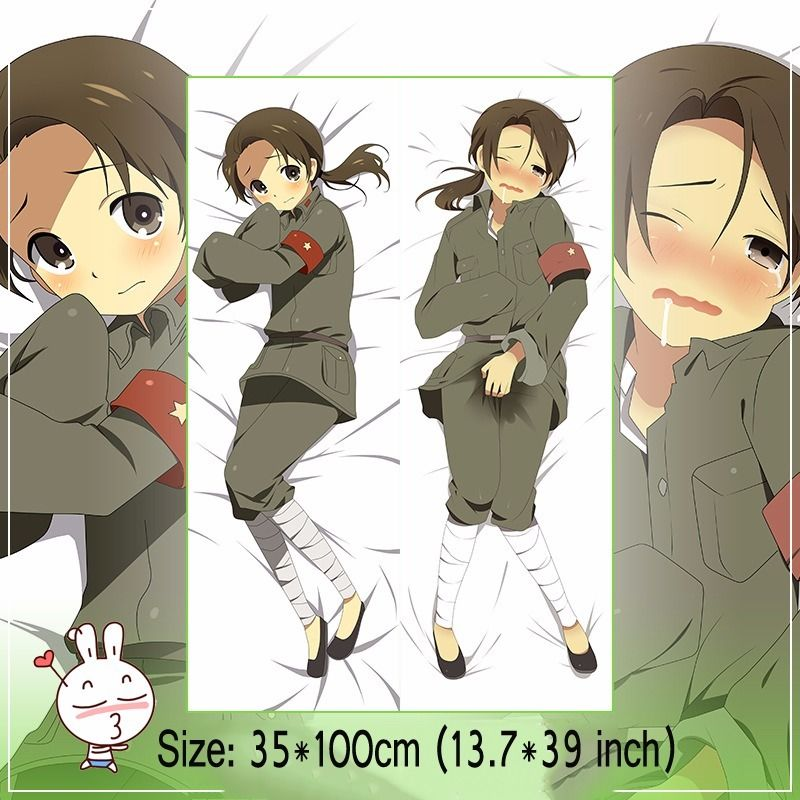 Anime Dakimakura Hetalia Pillow Case Cover