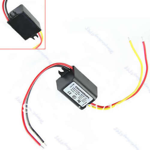 Free Shipping Waterproof DC/DC Converter 12V Step Down to 3V 3A 15W Power Supply Module(China (Mainland))