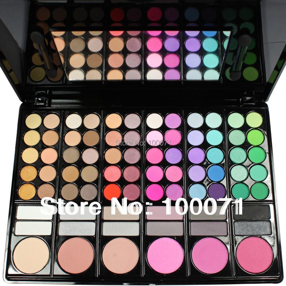Pro Full 78 Color Makeup Eyeshadow Palette Fashion Eye Shadow Make up Shadows Cosmetics#1704(China (Mainland))