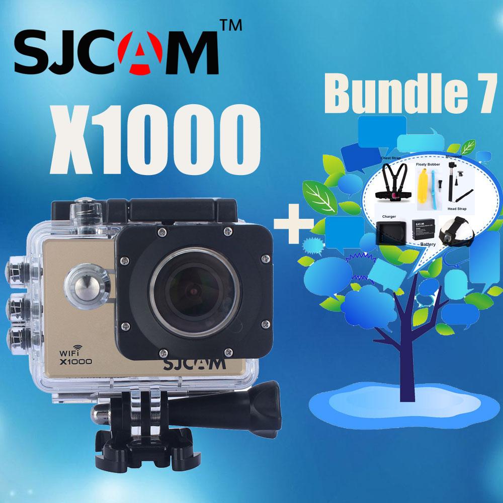 Various Accessories Available! Upgrade SJ4000 WiFi! Original SJCAM X1000 WiFi Novatek 96660 WiFi Sport Action Camera<br><br>Aliexpress