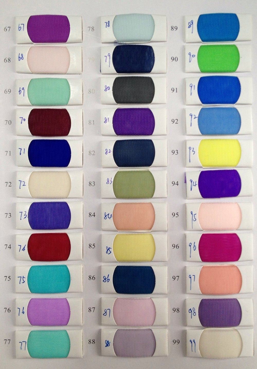 Tulle Colors C