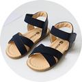 2017 Summer new girl sandals korean style children summer shoes elastic band toddler baby girls sandals