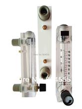 Gran flujo Panel rotámetro, líquido, medidor de flujo de agua max. 150LPM flujo de agua