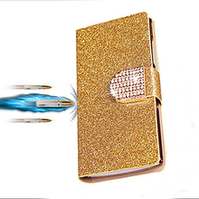 Buy Luxury shinning PU leather case For OnePlus Two 2 One Plus Two A2001 flip stander wallet phone cases cover with card slot for $3.79 in AliExpress store