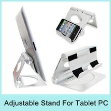 Aluminium Metal Desk Stand Holder Mount for Apple iPad iPad 2 iPad3 iPad mini Tablet PC Universal Stand Drop Shipping