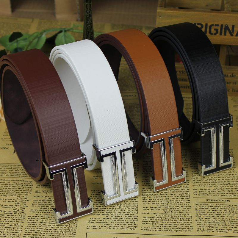 Belt Mens Luxury Real Leather Belts For Men Hot 4 colour leisure High quality Low price Free shipping(China (Mainland))