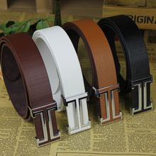 Belt Mens Luxury Real Leather Belts For Men Hot 4 colour leisure High quality Low price Free shipping