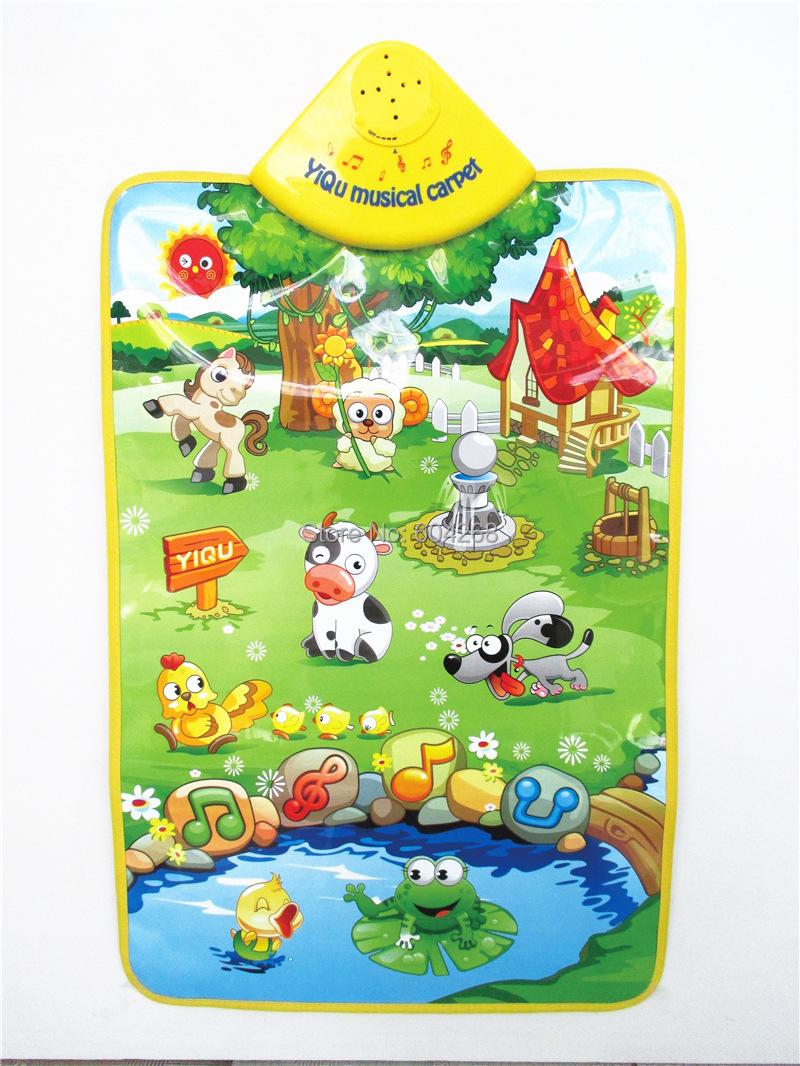 Comprar music sound granja de animales - Alfombras para jugar ninos ...
