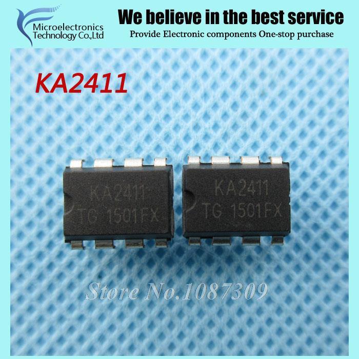 10pcs free shipping KA2411 DIP-8 Dual audio telephone ringing circuit IC new original(China (Mainland))