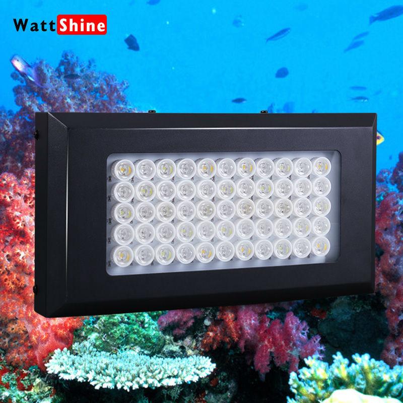 Dimmable 165W(55x3w) led aquarium light/lamp grow light Marine Reef Coral Fish led aquarium Tank Lamp/light white fish grow(China (Mainland))