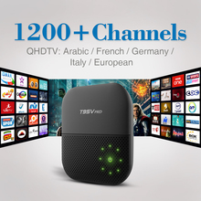 Buy T95Vpro Android 6.0 Smart Set-top TV Box 4K IPTV Media Player Free 1200 QHDTV IPTV 1Year Europe Arabic French Italy Germany for $89.98 in AliExpress store