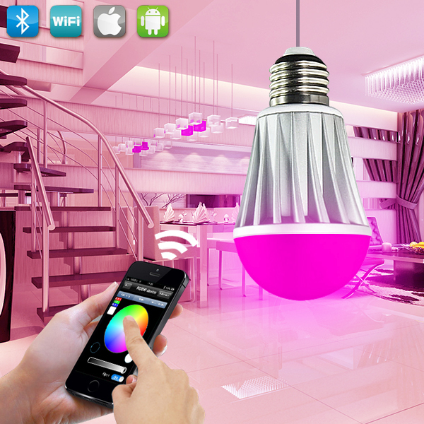 china factory sale led light bulb wifi smart lamp lighting ce rohs fcc approved(China (Mainland))