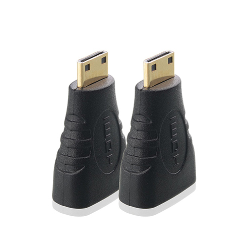 HDMI Female To Mini HDMI Male Adapter Adaptor Connector Black For Laptop Cameras 5ACE