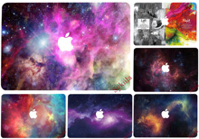 Stars Galaxy Sticker for Macbook Skin Air 11 13 Pro 13 15 17 Retina Sky Universe Poster Colorful Decal Laptop Skins Vinyl Case(China (Mainland))
