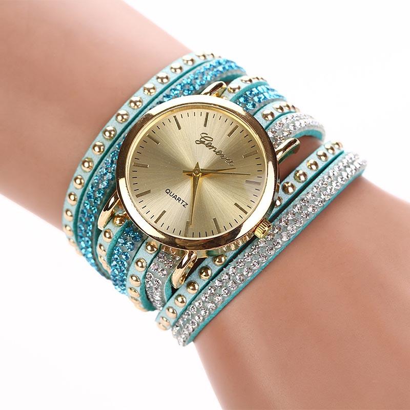 Гаджет   New Fashion Dress Watches Bracelet Watch Women/Lady Retro Synthetic Leather Strap Quartz Watch Bracelet Wristwatch FreeShip None Часы