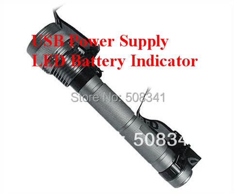 85W HID Flashlight 8000 lumen's xenon light