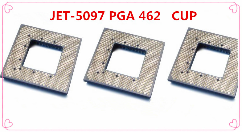 Free Shipping JU-JET JET-5097 PGA 462 IC socket CUP AMD 462 JET-5097<br><br>Aliexpress