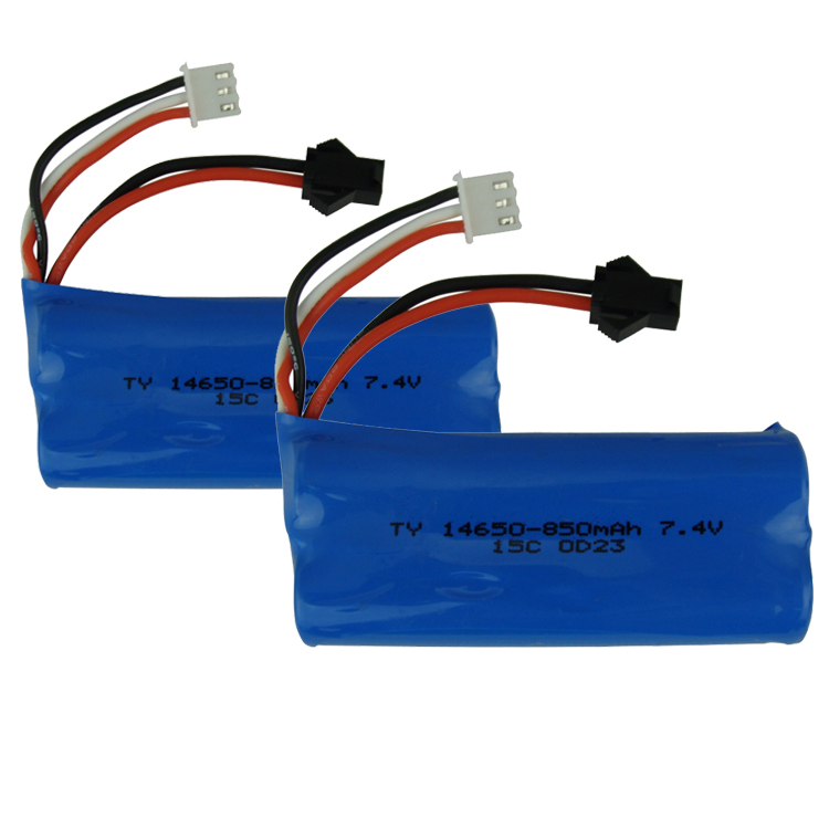 2Pcs Lipo Battery 7.4V 850mAH 15c SM Plug For Flywheel Rc Boat Helicopter Quadcopter Toy Hobby Parts Bateria Lipo(China (Mainland))